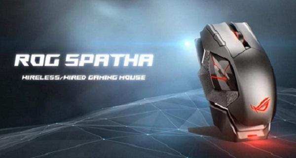 ایسوس ماوس گیمینگ ROG Spatha X را معرفی کرد