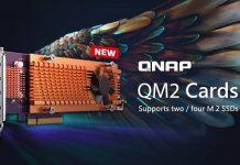 سرعت خیره کننده با کارت های QNAP QM2