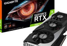 کارت گرافیک Gigbayte RTX 3060 Ti GAMING OC