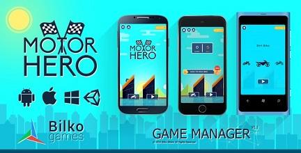 معرفی و دانلود بازی Motor Hero؛ حرکات آکروباتیک با موتور