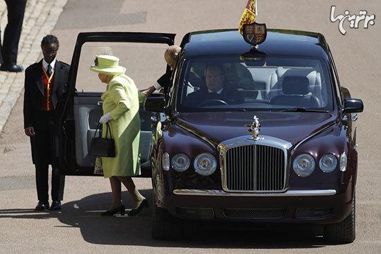 خودروهای شاهانه حاضر در مراسم ازدواج پرنس هری