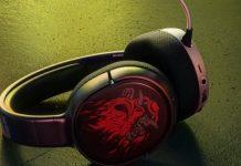 هدستهای گیمینگ استیل سریز با تم بازی Cyberpunk 2077 رونمایی شدند