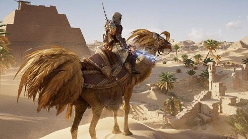 انتشار بروزرسانی جدید بازی Assassin's Creed Origins با موضوع Final Fantasy XV