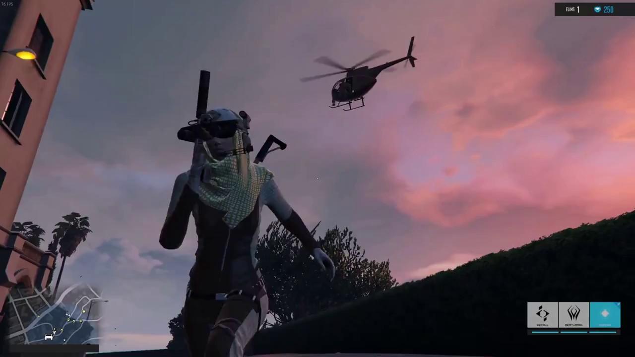 ماد بتل رویال بازی GTA V آن را به یک فورتنایت تکنفره تبدیل خواهد کرد