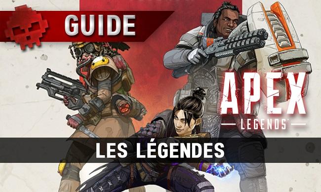 معرفی شخصیت های بازی Apex Legend