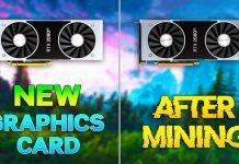 مقایسه RTX 2080 Ti قبل و بعد از ماینینگ