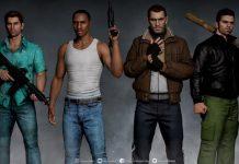 مدل سه بعدی شخصیت های GTA ساخته شدند 1 واقعی تر از مستند