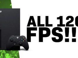 لیست گیمهایی که با نرخ 120 فریم برثانیه روی کنسول Xbox اجرا میشوند