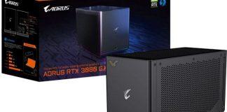 معرفی AORUS Gaming BOX با GeForce RTX 3080 توسط گیگابایت