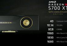 کارت گرافیک Radeon RX 5700 XT 50th Anniversary Edition تنها برای چین و آمریکا