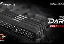 تیم گروپ رم های حرفه ای T-FORCE DARK PRO را برای پلتفرم AMD رونمایی کرد